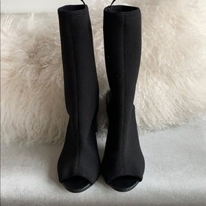 Divided by H&M knitted open toe Boots